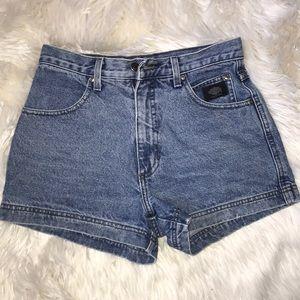 Harley-Davidson jean shorts
